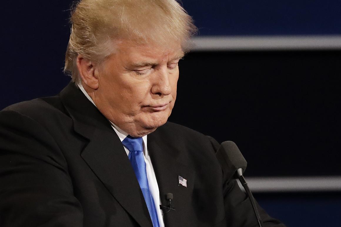 Trump falls into the trap he set for Biden